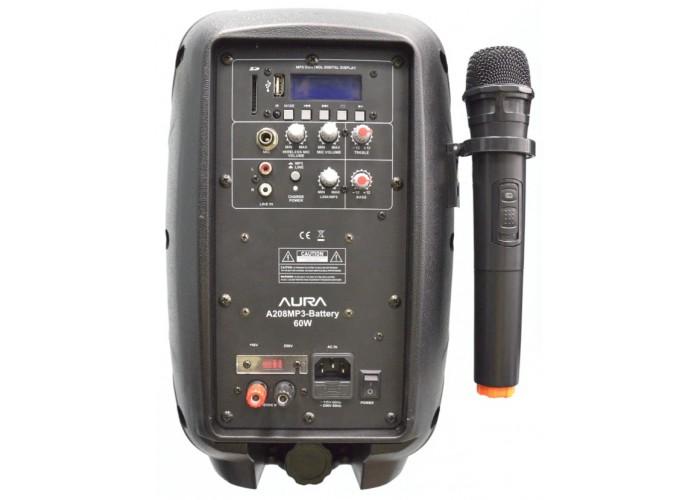 AURA A208MP3-Battery