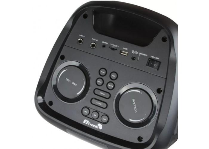 Караоке колонка Eltronic EL10-27 с микрофоном