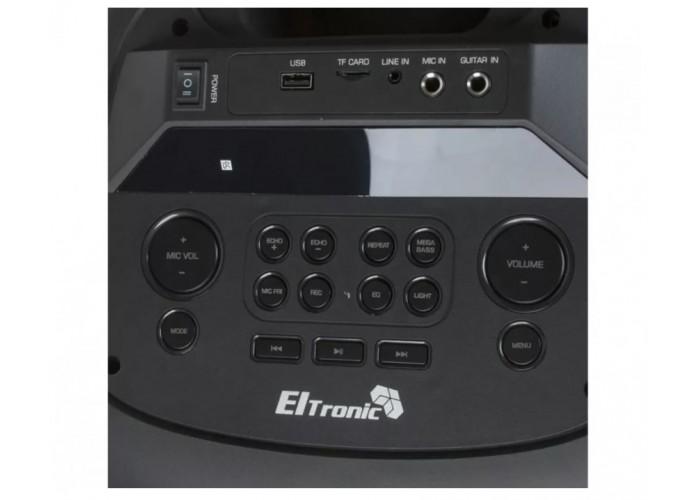 Караоке колонка Eltronic EL20-16 с двумя микрофонами