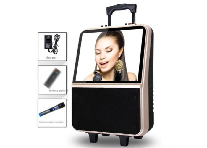 Колонка с монитором, микрофоном и Bluetooth 250Вт