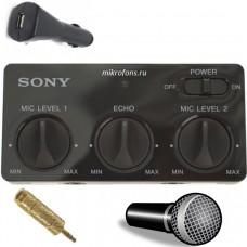 Адаптер для микрофона в автобус SONY + микрофон