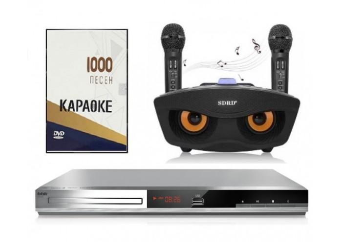Комплект Караоке BBK SOVA с оценкой исполнения +1000 песен