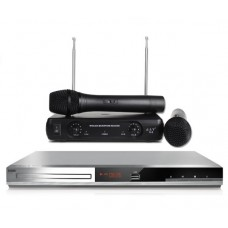Комплект Караоке BBK DVP036S HOME mini с оценкой исполнения 2 радиомикрофона