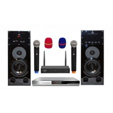 Караоке комплект BBK HOME + 2 колонки +2 радиомикрофона