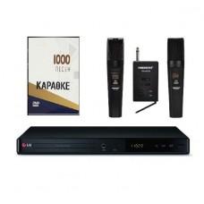 Караоке LG DP547H плюс Bluetooth с оценкой исполнения + 1000 песен