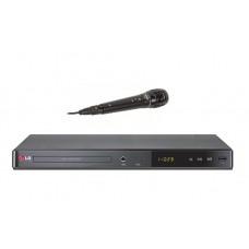 DVD-плеер LG DP547H + микрофон