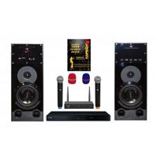 Караоке комплект LG DP547H HOME + с оценкой исполнения и радиомикрофонами + 1000 песен