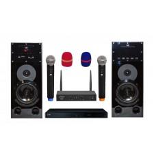 Караоке комплект LG DP547H HOME + с оценкой исполнения и радиомикрофонами