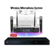 Караоке комплект LG DP547H HOME 1 с оценкой исполнения + 2 радиомикрофона