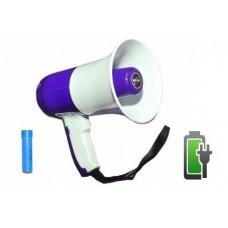 Мегафон/рупор/громкоговоритель на АКБ с записью голоса 15-25 Вт